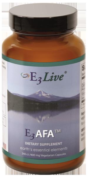 E3Live Canada Dried AFA